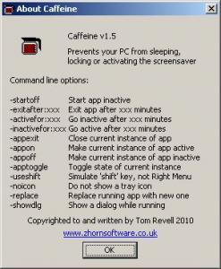 Caffeine 1.5 - náhled