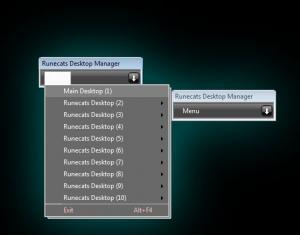 Runecats Desktop Manager 2 - náhled