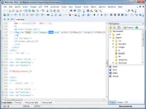 WeBuilder 2014 12.0 - náhled
