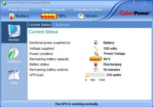 PowerPanel Personal Edition 1.3.4 - náhled