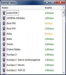 RadioSCAN 2.0 - náhled