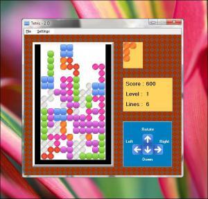 SSuite Tetris 2D Game 2.0 - náhled