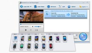 WonderFox DVD to Cell Phone Ripper 2.0 - náhled