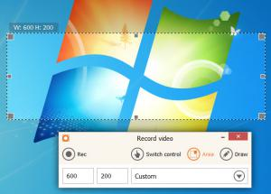 IceCream Screen Recorder 4.89 - náhled