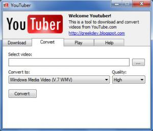 YouTube Downloader 2011 - náhled