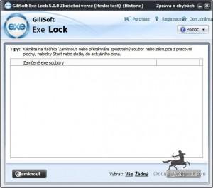 GiliSoft Exe Lock - náhled