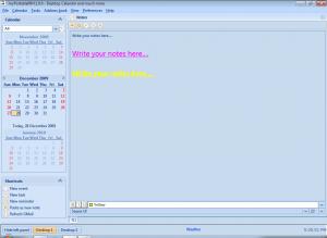 myPortablePIM 1.5.0 - náhled