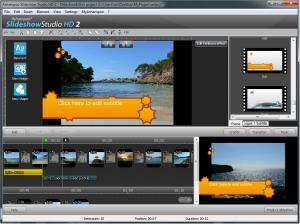 Ashampoo Slideshow Studio HD 3 3.0.5 - náhled