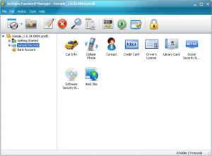 ImVajra Password Manager 1.0.34.0424 - náhled