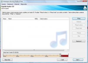 Ashampoo Burning Studio 6 FREE 6.84 - náhled