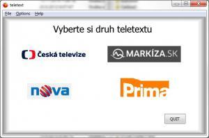 Teletext pro Windows 1.0 - náhled