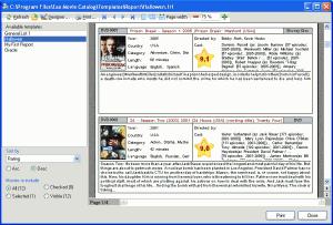 Eax Movie Catalog 2.5.0 - náhled