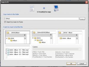SharePod 4.2.0.0 - náhled