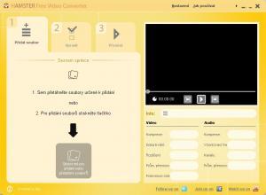 Hamster Free Video Converter 2.5.3 - náhled