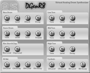 ES DGenR8 2.9.5 - náhled