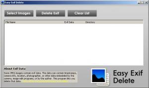 Easy Exif Delete 1.0 - náhled