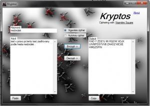 Kryptos 1.0.3 - náhled