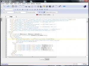 BlueGriffon 3.0.1 - náhled