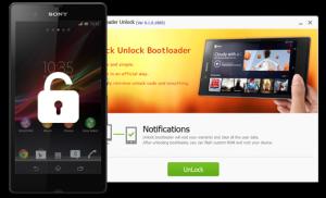 SONY Bootloader Unlock 0.2.0.1819 - náhled