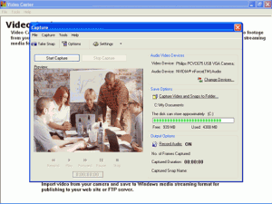 Video Caster 3.44 - náhled