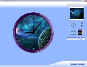 Custom Skin Clock 1.0 - náhled
