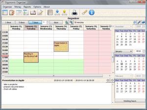 Ergonomic Organizer Free 2.0 - náhled