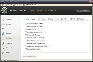Hijack Hunter 1.8.1 - náhled