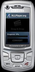 Free ALLConverter to 3GP 1.2 - náhled