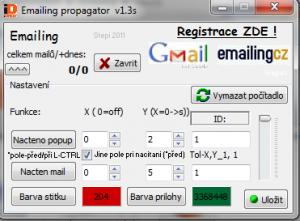 Auto Emailing 2.0 - náhled