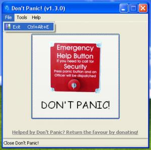Don't Panic! 1.4.2.55 - náhled