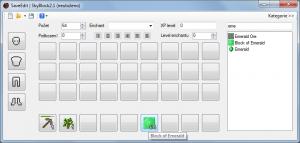 Minecraft SaveEdit 4.2.0.0 - náhled