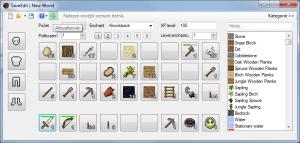 Minecraft SaveEdit 4.2.0.1 - náhled