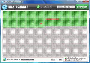 Ariolic Disk Scanner 1.6 - náhled