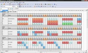 Plánování směn 1.0.0.23 - náhled