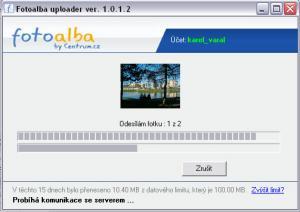 Fotoalba nahrávač 1.0.1.5 - náhled
