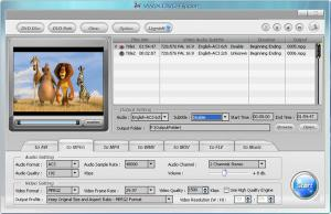 WinX DVD Ripper 8.6.1 - náhled