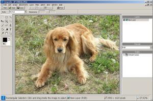 Fotografix 1.5 - náhled