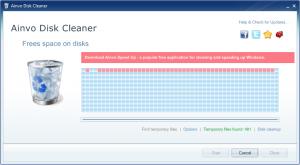Ainvo Disk Cleaner 2.3.2.351 - náhled