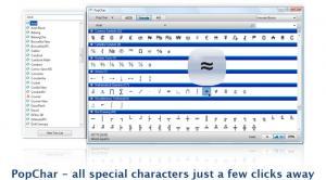 PopChar 5.3 - náhled