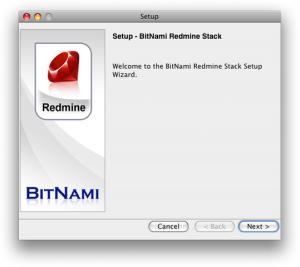 BitNami Redmine Stack 2.0.1 - náhled