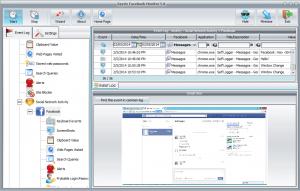 Spyrix Facebook Monitor 5.0.5 - náhled