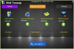 Disk Tuneup 1.0.0.0 - náhled