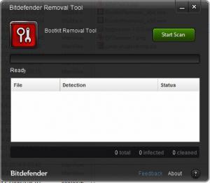 Bitdefender Rootkit Remover 3.0.2.2.011 - náhled