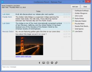 CDMessenger 3.3 - náhled