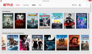 Netflix Browser 1.13 - náhled