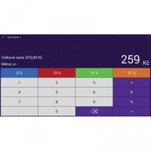 EET Kalkulačka - náhled