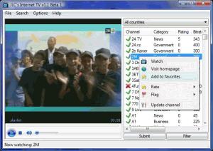 JLC's Internet TV 1.2.1 - náhled