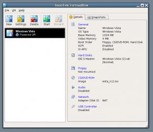 VirtualBox 5.1.10 - náhled