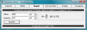 Kondenzátory 1.1 - náhled