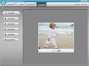 Wondershare Photo Story Platinum 3.2.1.1 - náhled